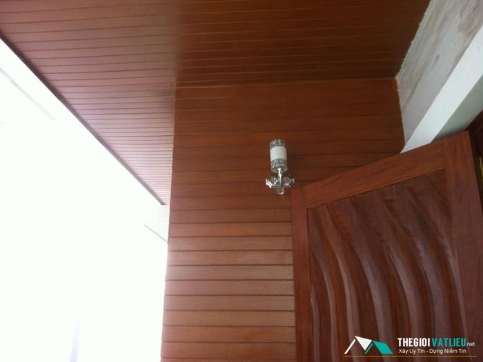 Có nên ốp tường bằng tấm xi măng vân gỗ Smartwood?