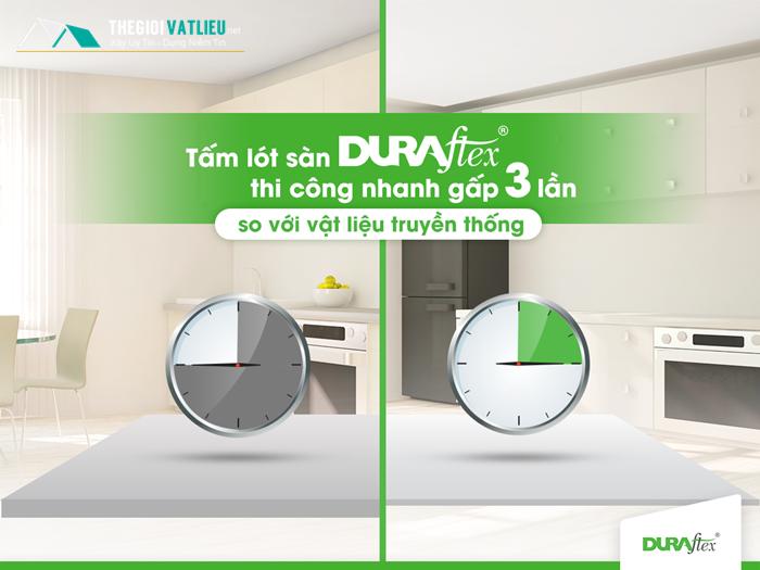 Tấm Cemboard Việt Nam Duraflex làm sàn trần vách ngăn