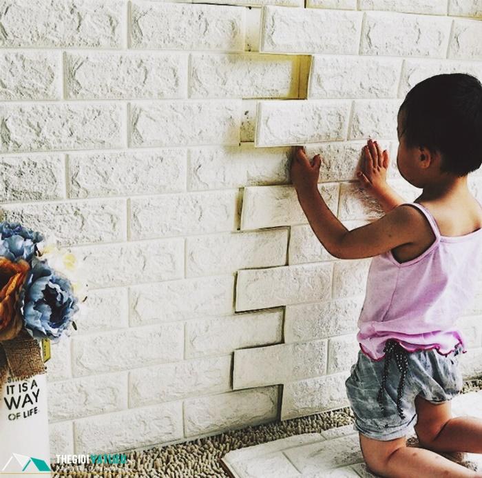 Xốp dán tường 3d giá rẻ tại tphcm