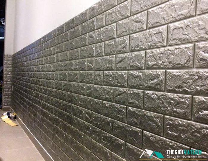 Xốp dán tường giả gạch giá rẻ tại Tphcm