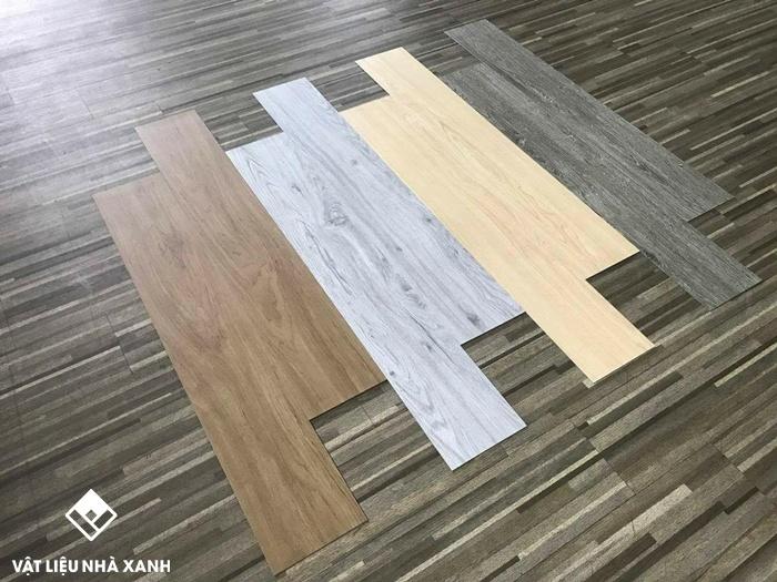 sàn nhựa giả gỗSàn nhựa giả gỗ tự dán | Sàn nhựa vân gỗ hèm khóa giá rẻ