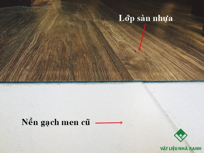 sàn nhựa giả gỗ pvc
