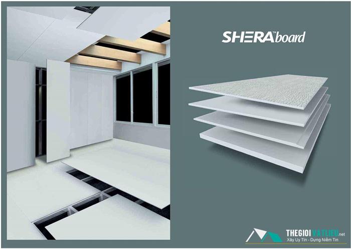 Ưu điểm vượt trội của tấm Shera Board