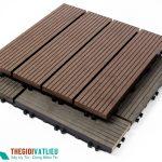 Tấm vỉ gỗ nhựa lót sàn ngoài trời