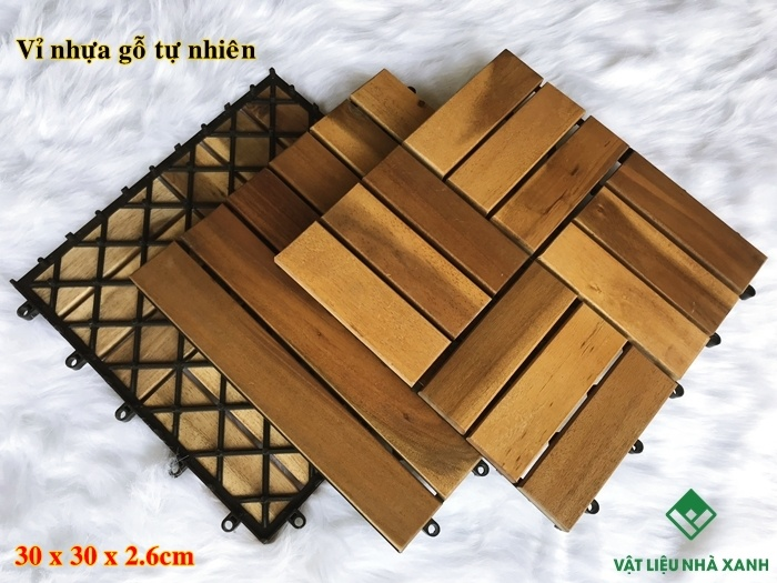 vỉ sàn gỗ nhựa