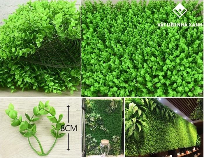 cây cỏ nhựa trang trí