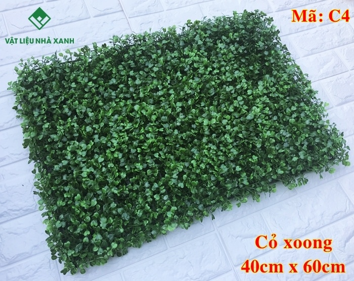 cỏ nhựa trang trí cỏ xoong