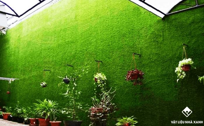 Tại sao khách hàng thích sử dung cỏ nhựa trang trí?