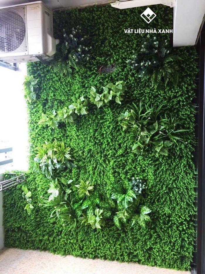 Báo giá cỏ nhựa trang trí tường