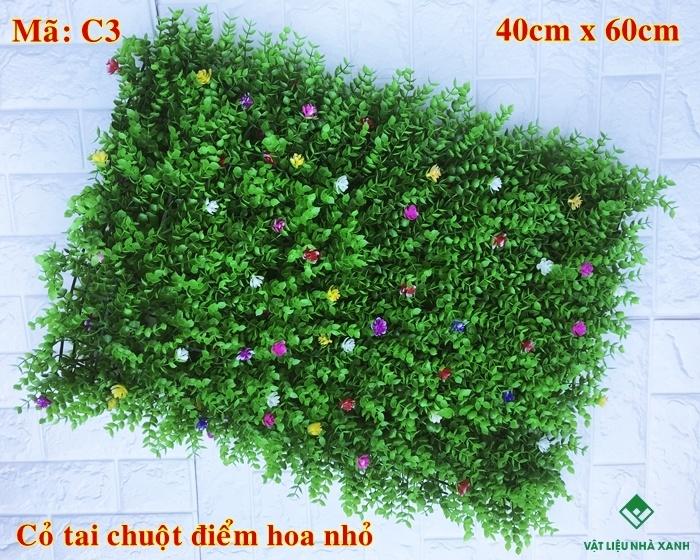 thảm cỏ nhựa trang trí
