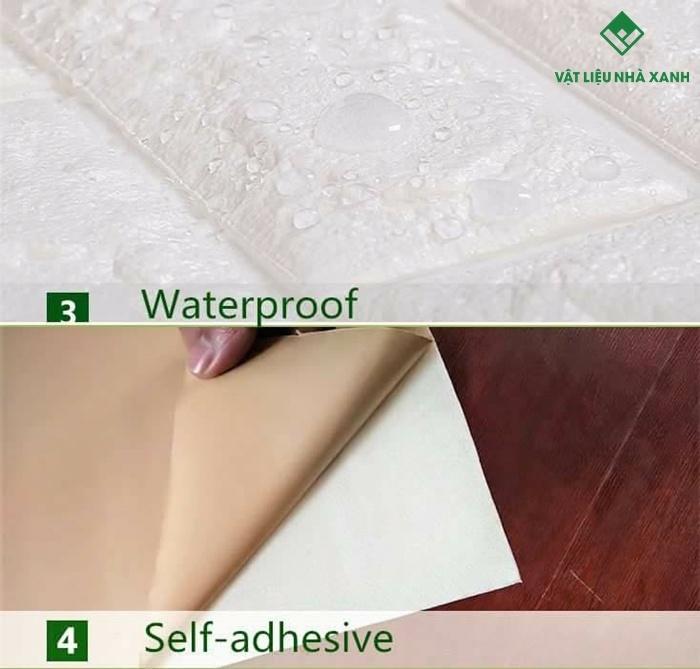 cấu tạo xốp dán tường chống ẩm mốc