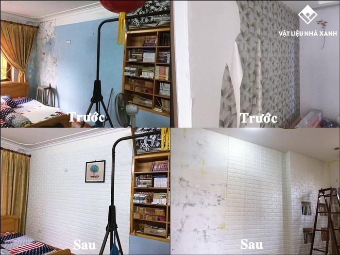 xốp dán tường chống ẩm mốc tphcm