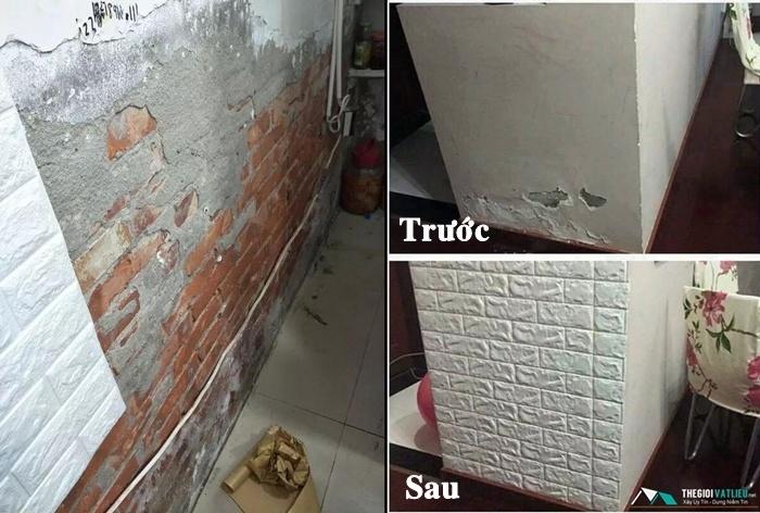 xốp dán tường chống ẩm tphcm