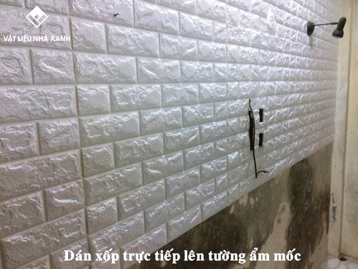 Có nên sử dụng xốp dán tường thay sơn nước