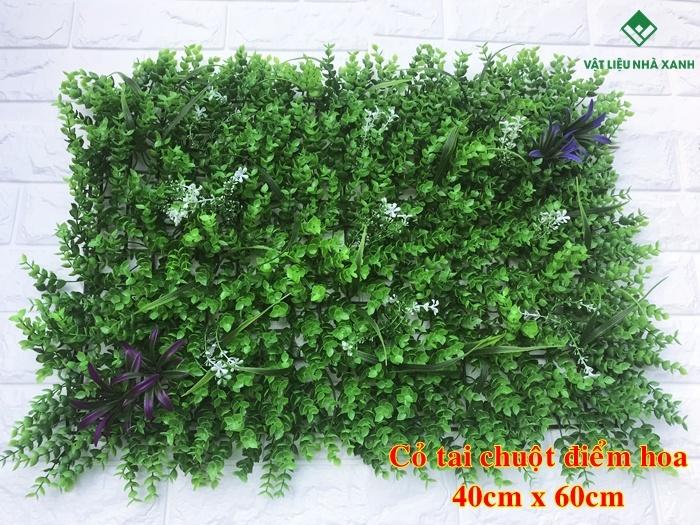 cỏ nhân tạo dán tường giá rẻ