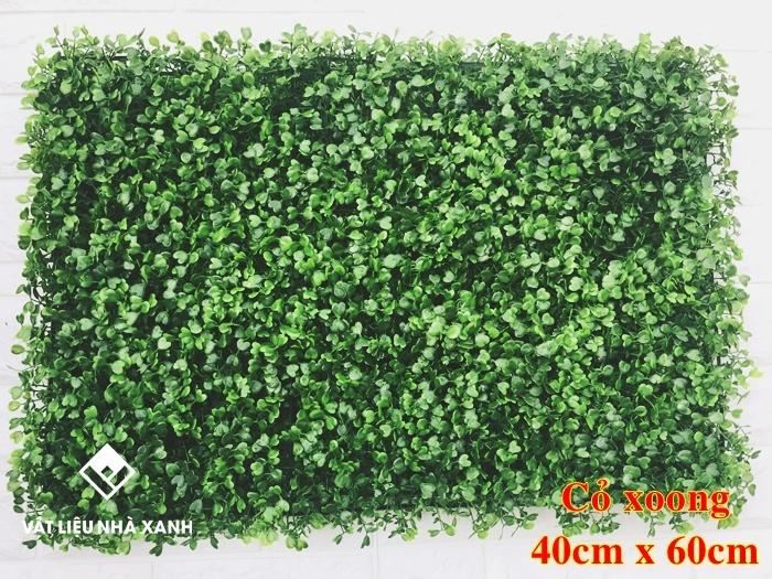 cỏ nhựa dán tường giá rẻ
