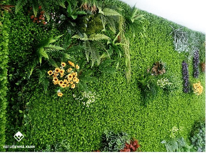 cỏ dán tường giá rẻ