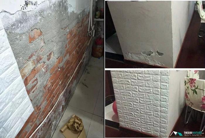 độ bền xốp dán tường