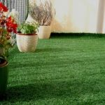 cỏ giả trang trí