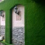 Cỏ nhân tạo treo tường