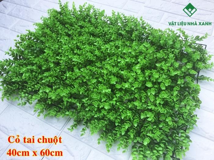 thảm cỏ dán tường giá rẻ