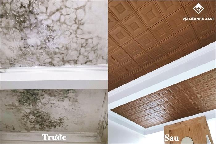 xốp dán trần nhà