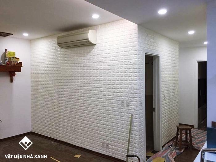 Xốp dán tường 3d dùng được bao lâu