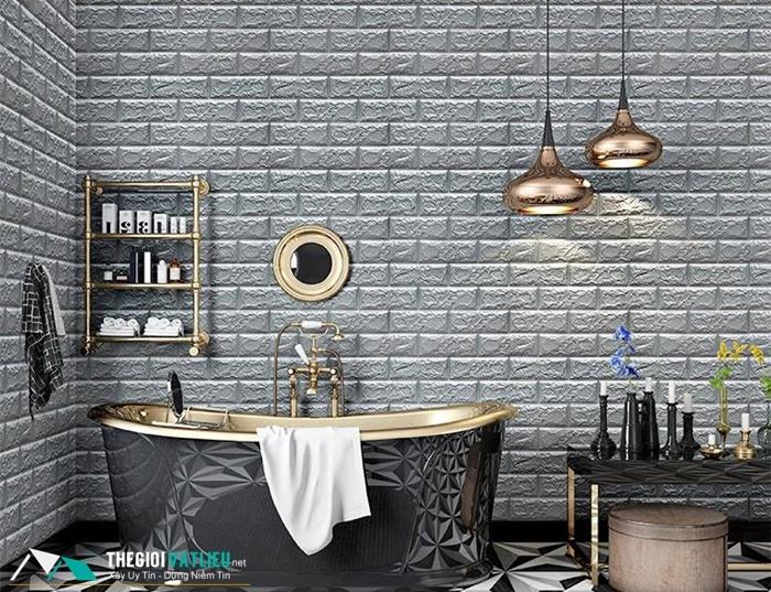 xốp dán tường phòng tắm