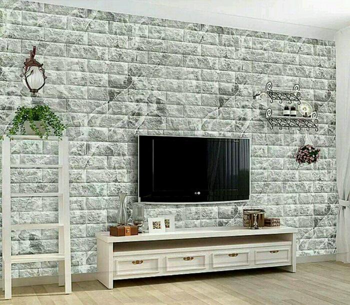 Xốp dán tường 3D với lối thiết kế sang trọng, mang đến một không gian tinh tế, sang trọng