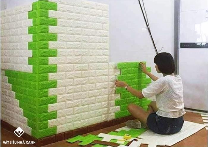 bán sỉ xốp dán tường