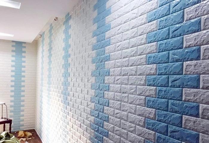 Miếng dán tường rất thân thiện với người dùng