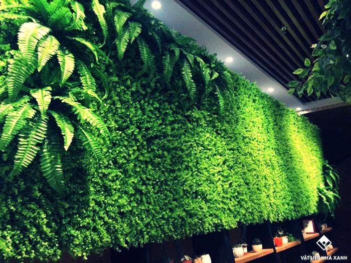 mẫu cỏ nhựa trang trí