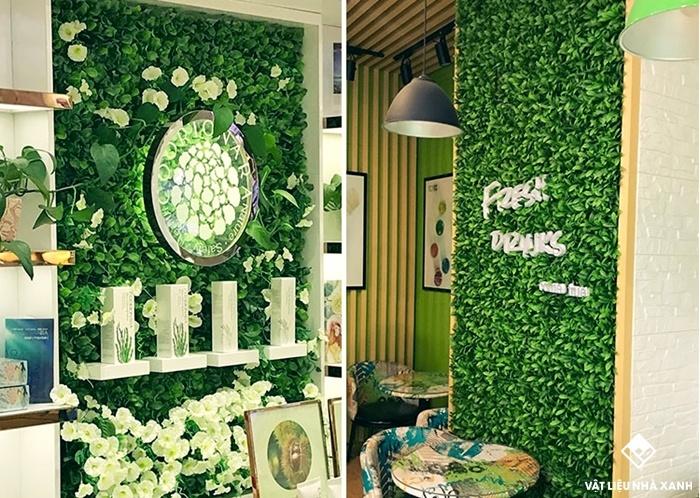 mẫu cỏ nhựa trang trí tphcm