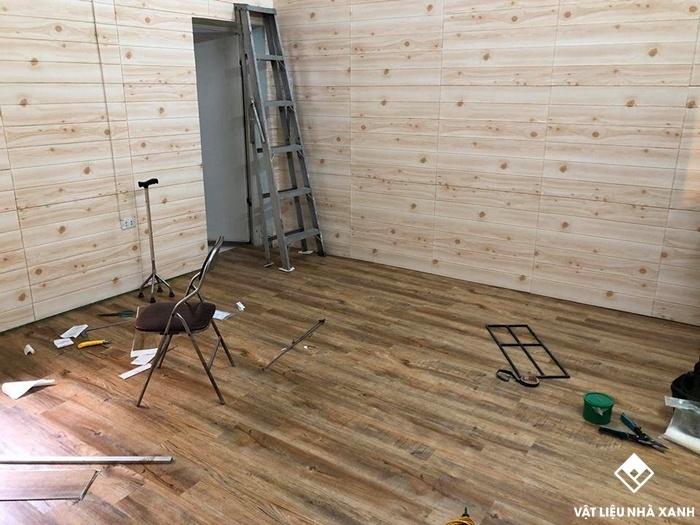 Sàn nhựa vân gỗ có rất nhiều ưu điểm tuyêt vời cho mọi công trình