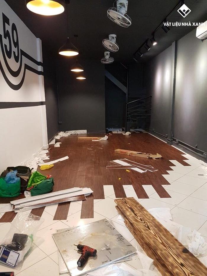 sàn nhựa giả gỗ giá sỉ