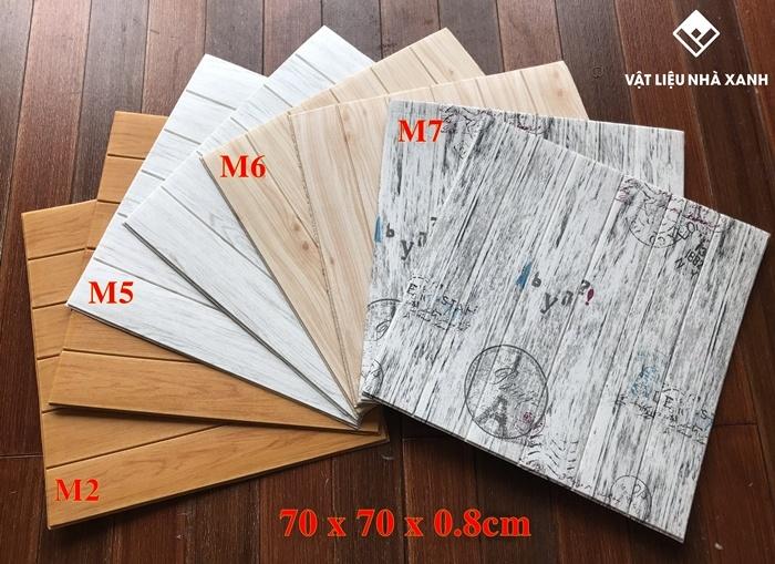 tổng kho xốp dán tường giả gỗ