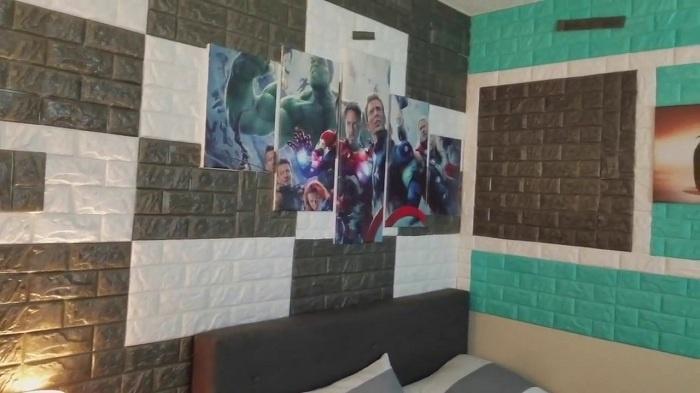 Xốp dán tường có thể dùng trong nhiều công trình và mục đích khác nhau