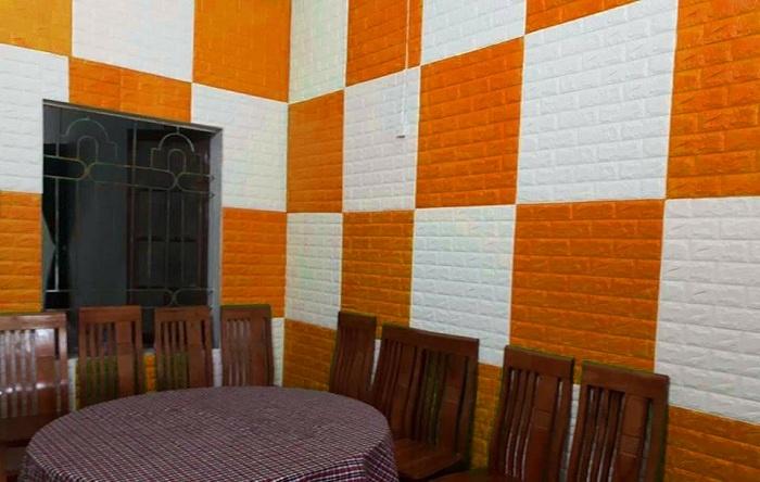 Xốp dán tường Hàn Quốc giá rẻ