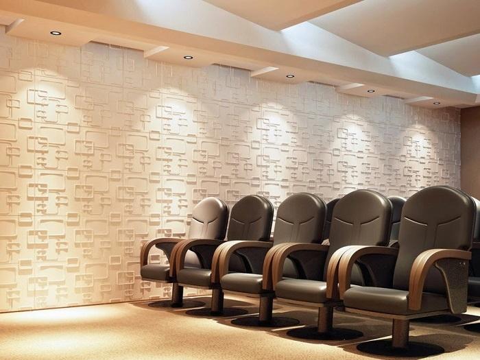 Tấm ốp tường với chất liệu nhựa PVCchống nước, chống ẩm, không bám bụi