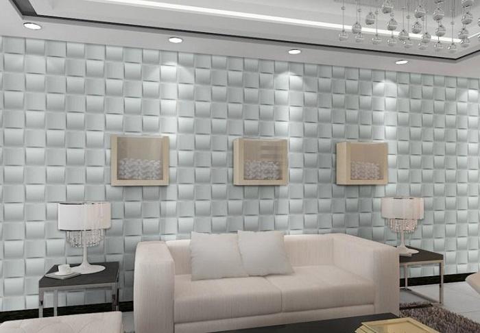 Tấm ốp 3d trang trí tường có những ưu điểm gì vượt trội