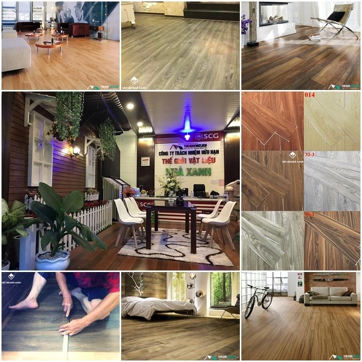 công ty bán sàn nhựa giả gỗ