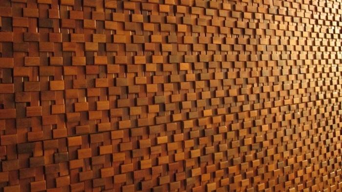 Tấm gỗ 3D mang đến vẻsang trọng và quý phái cho ngôi nhà