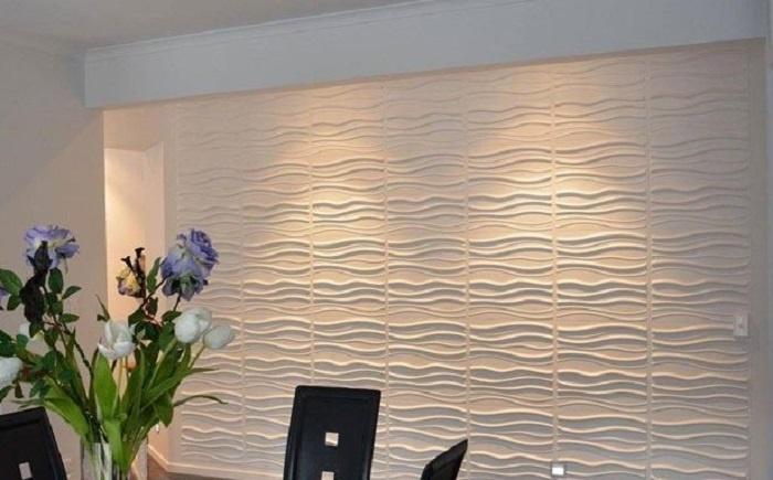 Tấm ốp sợi 3D thực vật sự lựa chọn tuyệt vời cho phòng khách