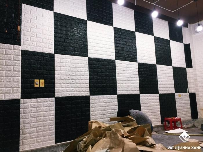 tấm xốp dán tường giá rẻ hcm
