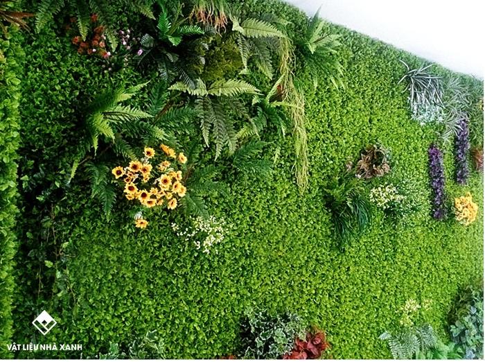cỏ dán tường tphcm