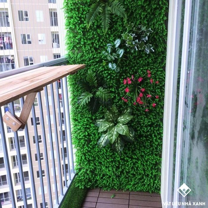 cỏ trang trí chung cư tphcm