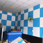 mẫu trang trí xốp dán tường