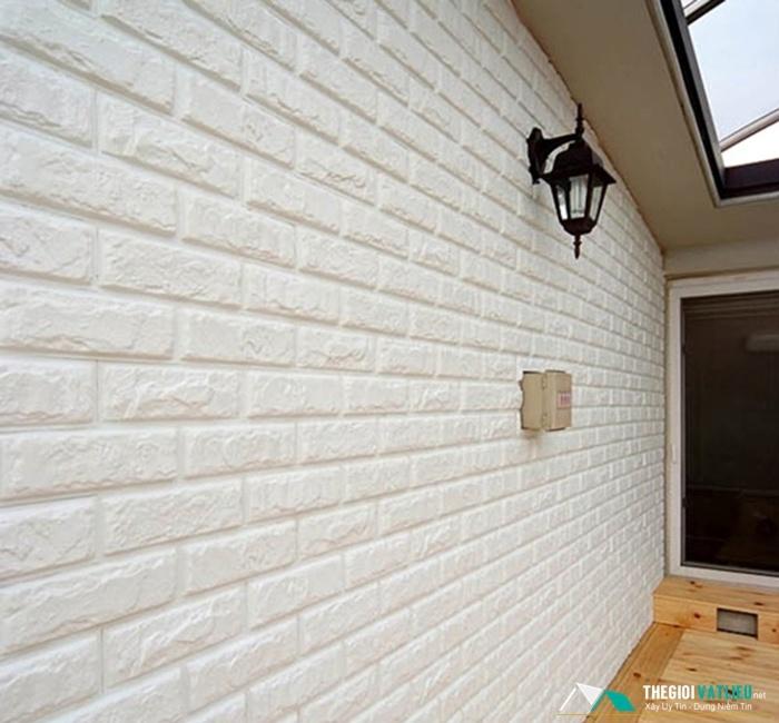 mẫu xốp dán tường giả gạch