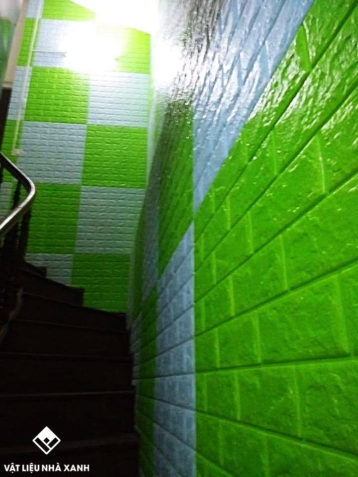 trang trí xốp dán tường
