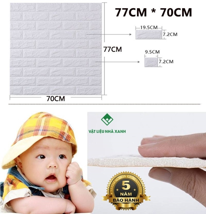 bảo hành xốp dán tường